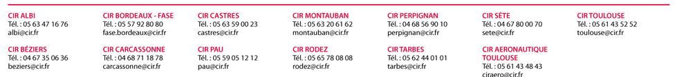 Agences CIR