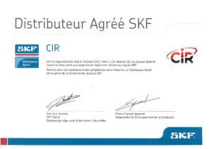 Distributeur officiel SKF