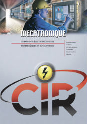 CIR Plaquette Automatisme - Motorisation
