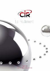 CIR Plaquette Roulement